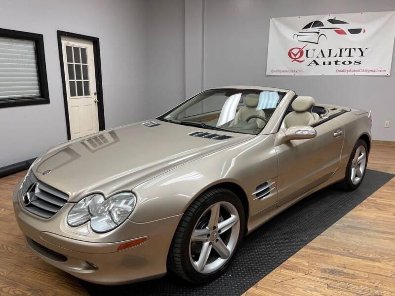 2004 Mercedes-Benz SL-Class for sale at Quality Autos in Marietta GA
