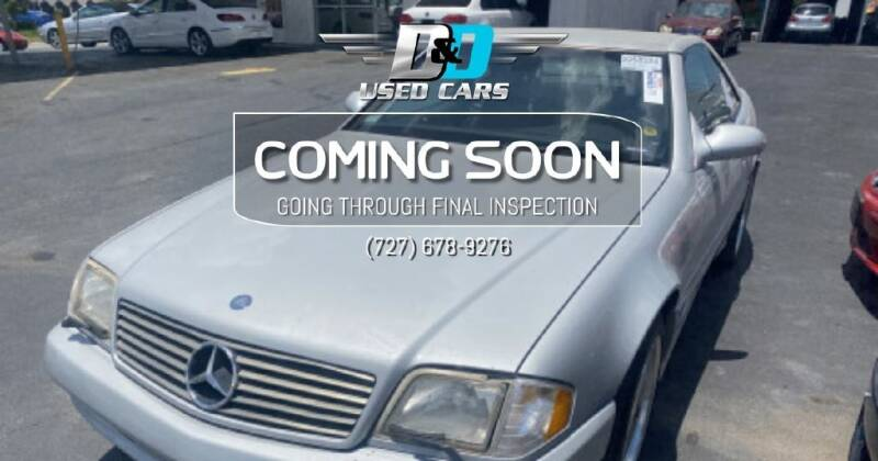 2001 Mercedes-Benz SL-Class for sale at D & D Used Cars in New Port Richey FL