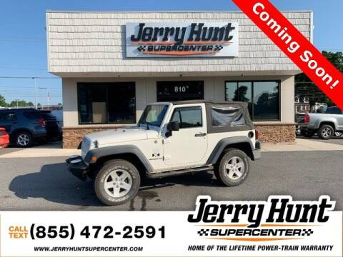 2009 Jeep Wrangler for sale at Jerry Hunt Supercenter in Lexington NC