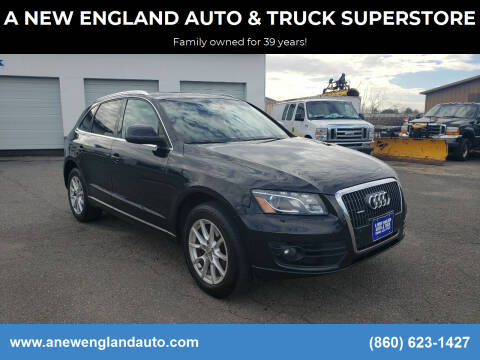 2012 Audi Q5 for sale at A NEW ENGLAND AUTO & TRUCK SUPERSTORE in East Windsor CT