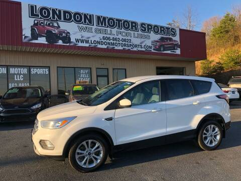 2017 Ford Escape for sale at London Motor Sports, LLC in London KY