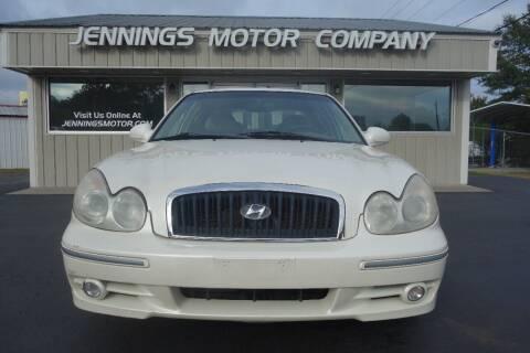 2003 Hyundai Sonata for sale at Jennings Motor Company in West Columbia SC