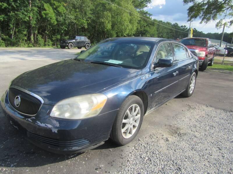 2008 Buick Lucerne for sale at Bullet Motors Charleston Area in Summerville SC