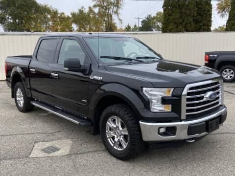 2017 Ford F-150 for sale at Miller Auto Sales in Saint Louis MI