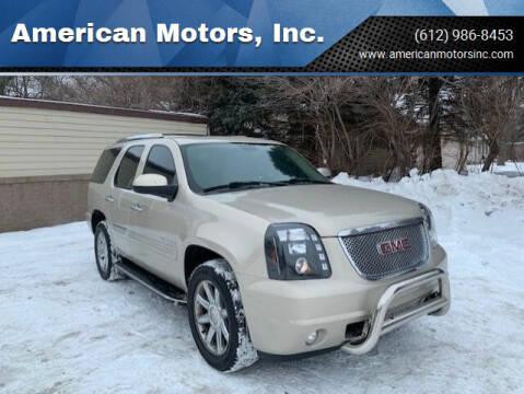 2007 GMC Yukon for sale at American Motors, Inc. in Farmington MN