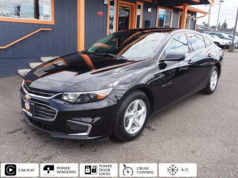 2018 Chevrolet Malibu for sale at Sabeti Motors in Tacoma WA