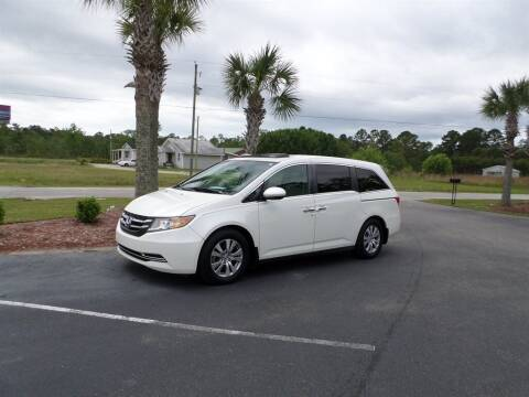 2016 Honda Odyssey for sale at First Choice Auto Inc in Little River SC