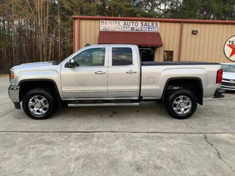 2018 GMC Sierra 2500HD for sale at Daniel Used Auto Sales in Dallas GA