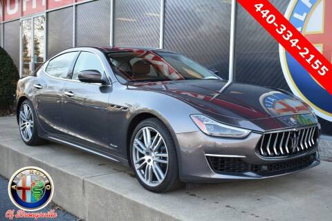 2018 Maserati Ghibli for sale at Alfa Romeo & Fiat of Strongsville in Strongsville OH