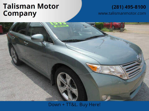 2012 Toyota Venza for sale at Don Jacobson Automobiles in Houston TX
