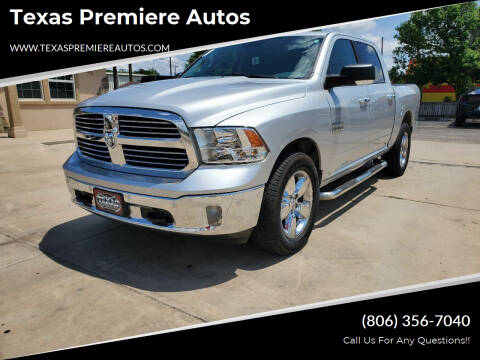 2016 RAM Ram Pickup 1500 for sale at Texas Premiere Autos in Amarillo TX