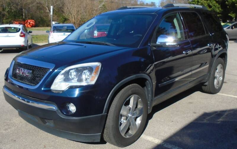 2012 GMC Acadia for sale at SAR Enterprises in Raleigh NC