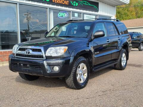 2007 Toyota 4Runner for sale at Green Cars Vermont in Montpelier VT