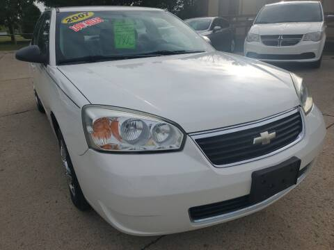 2007 Chevrolet Malibu for sale at Kachar's Used Cars Inc in Monroe MI