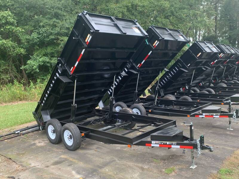 2021 New Carry-On Dump Trailer 7x14 Low-Profile High-Side 14K for sale at Tripp Auto & Cycle Sales Inc in Grimesland NC