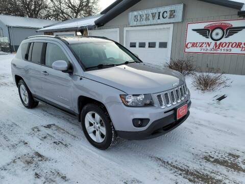 2014 Jeep Compass for sale at CRUZ'N MOTORS in Spirit Lake IA