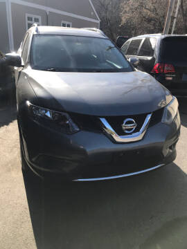 2015 Nissan Rogue for sale at P & M AUTO in Springfield VT