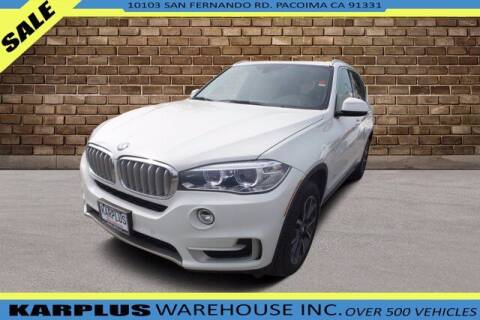 2017 BMW X5 for sale at Karplus Warehouse in Pacoima CA