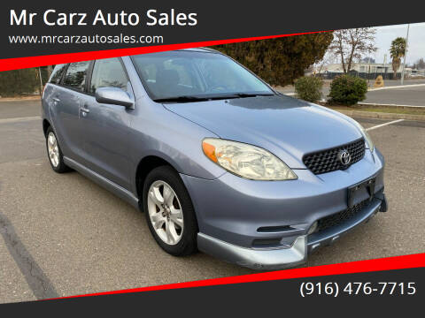 2004 Toyota Matrix for sale at Mr Carz Auto Sales in Sacramento CA