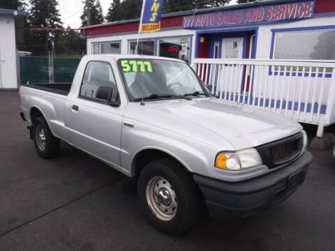2005 Mazda B-Series Truck for sale at 777 Auto Sales and Service in Tacoma WA
