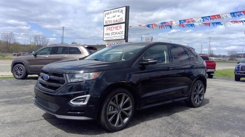 2018 Ford Edge for sale at Premier Auto Sales Inc. in Big Rapids MI