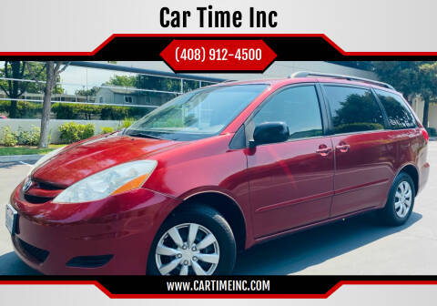 2007 Toyota Sienna for sale at Car Time Inc in San Jose CA
