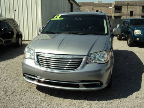 2014 Chrysler Town and Country for sale at DESERT AUTO TRADER in Las Vegas NV