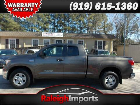 2008 Toyota Tundra for sale at Raleigh Imports in Raleigh NC