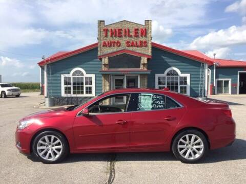 2014 Chevrolet Malibu for sale at THEILEN AUTO SALES in Clear Lake IA