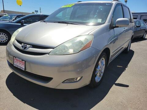 2006 Toyota Sienna for sale at Primo Auto Sales in Merced CA