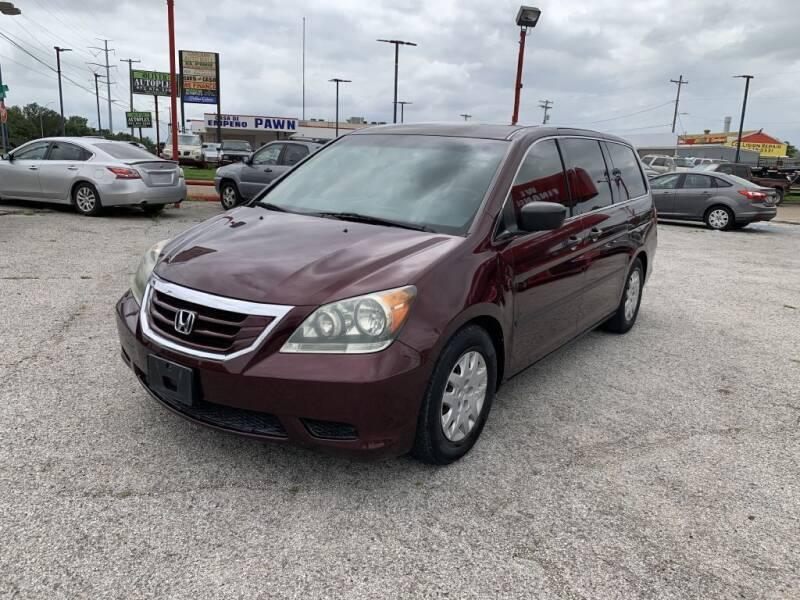 2008 Honda Odyssey for sale at Texas Drive LLC in Garland TX