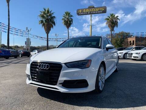 2016 Audi A3 for sale at A MOTORS SALES AND FINANCE - 6226 San Pedro Lot in San Antonio TX