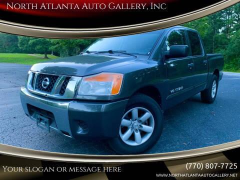2008 Nissan Titan for sale at North Atlanta Auto Gallery, Inc in Alpharetta GA