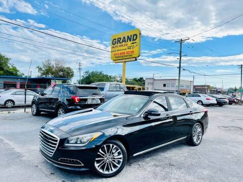 2015 Hyundai Genesis for sale at Grand Auto Sales in Tampa FL
