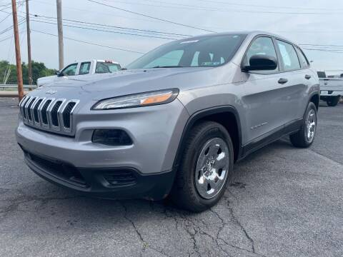 2014 Jeep Cherokee for sale at Clear Choice Auto Sales in Mechanicsburg PA