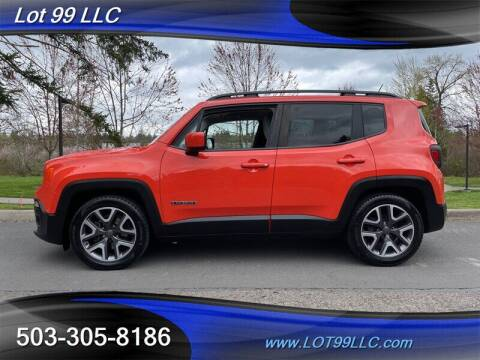 2015 Jeep Renegade for sale at LOT 99 LLC in Milwaukie OR