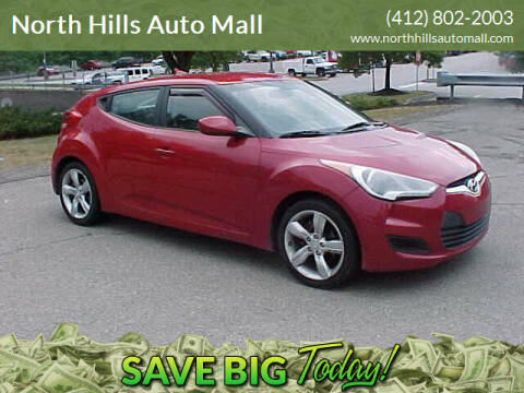 2012 Hyundai Veloster for sale at North Hills Auto Mall in Pittsburgh PA