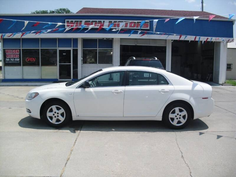 2008 Chevrolet Malibu for sale at Wilson Motors in Junction City KS