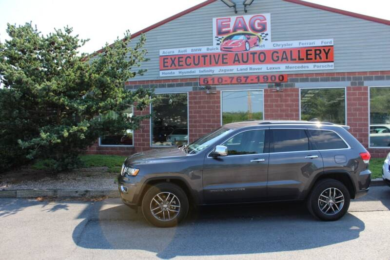 2017 Jeep Grand Cherokee for sale at EXECUTIVE AUTO GALLERY INC in Walnutport PA