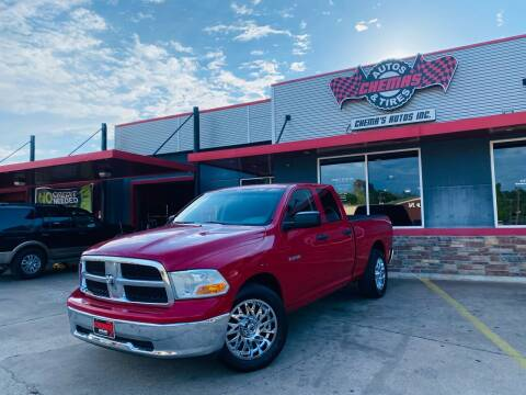2010 Dodge Ram Pickup 1500 for sale at Chema's Autos & Tires in Tyler TX
