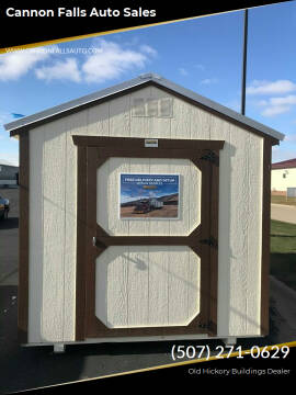 Old Hickory Buildings Utility Shed 8x12 for sale at Cannon Falls Auto Sales in Cannon Falls MN