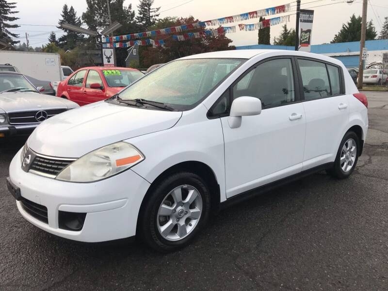 2007 Nissan Versa for sale at Stag Motors in Portland OR