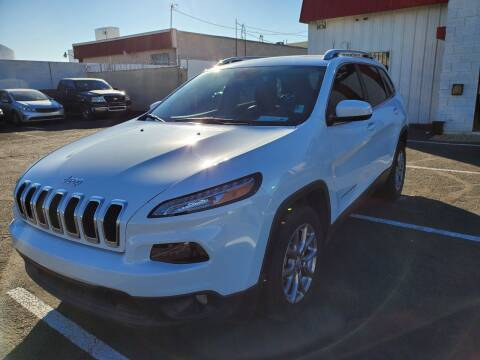 2018 Jeep Cherokee for sale at Auto Center Of Las Vegas in Las Vegas NV