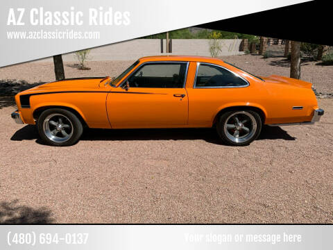 1976 Chevrolet Nova for sale at AZ Classic Rides in Scottsdale AZ