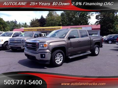 2014 GMC Sierra 1500 for sale at Auto Lane in Portland OR