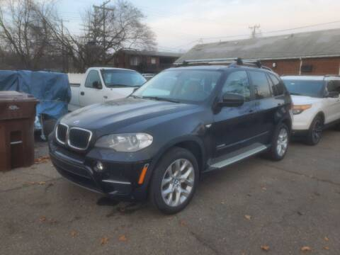 2013 BMW X5 for sale at J & J Used Cars inc in Wayne MI