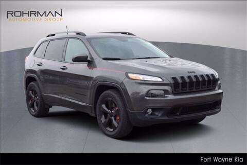 2018 Jeep Cherokee for sale at BOB ROHRMAN FORT WAYNE TOYOTA in Fort Wayne IN