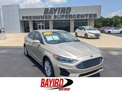 2019 Ford Fusion Hybrid for sale at Bayird Truck Center in Paragould AR