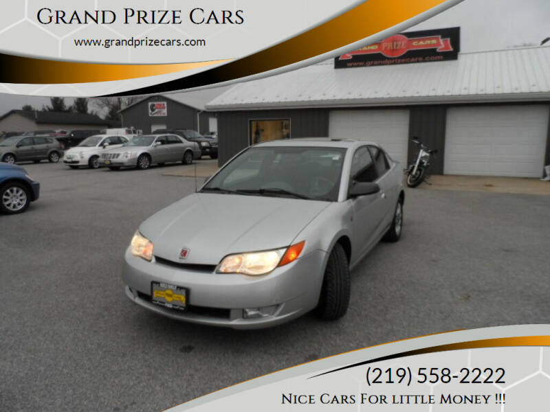2004 Saturn Ion for sale at Grand Prize Cars in Cedar Lake IN