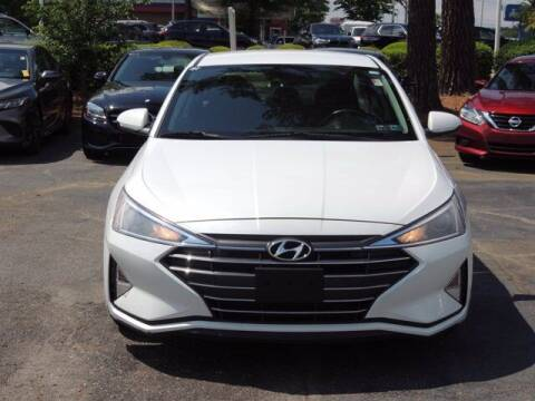 2019 Hyundai Elantra for sale at Auto Finance of Raleigh in Raleigh NC